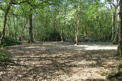 A photo of one of the camping sites
